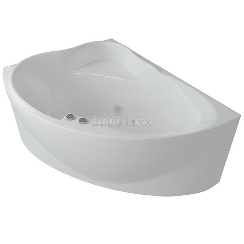 Ванна акриловая АКВАТЕК Альтаир 158х110 (без гидромассажа)