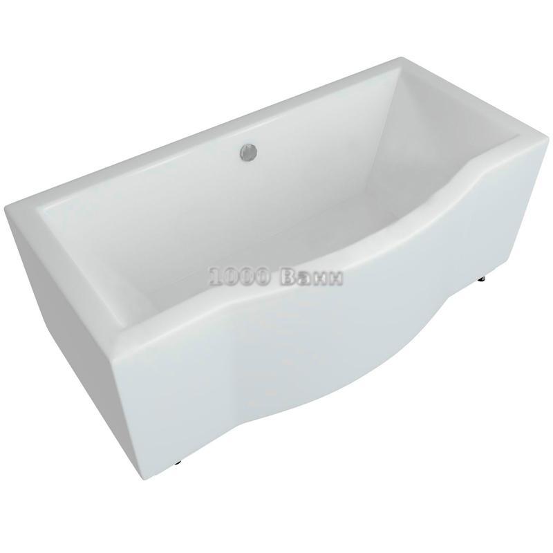 Ванна акриловая АКВАТЕК Гелиос 180х90 (без гидромассажа)