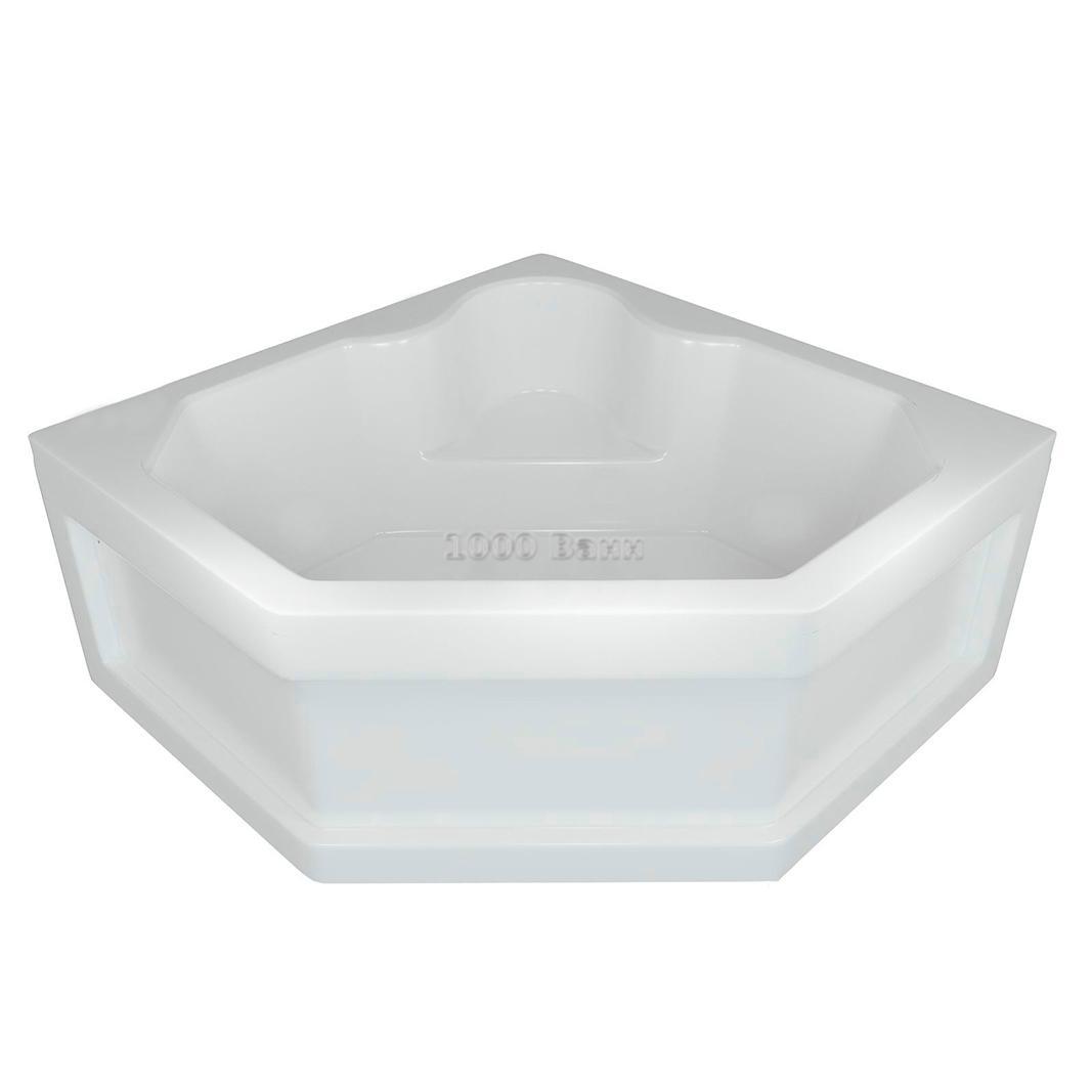 Ванна акриловая АКВАТЕК Лира 148х148 (без гидромассажа)