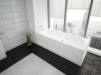 Акриловая ванна Акватек Оберон
