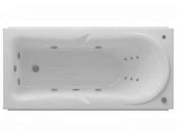 Акриловая ванна Акватек Леда