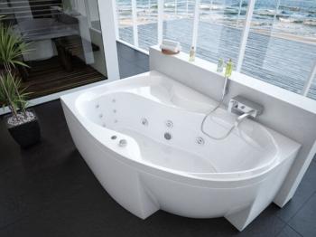 Ванна акриловая Акватек Вега 170 см