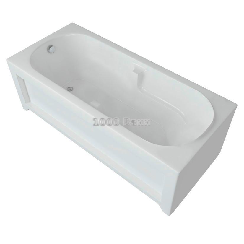Ванна акриловая АКВАТЕК Лея 170х75 (без гидромассажа)