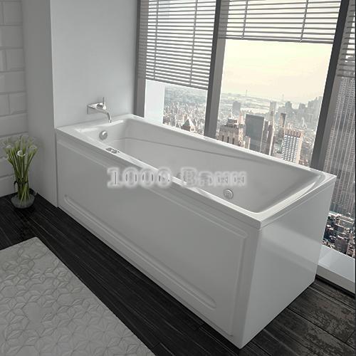 Ванна акриловая АКВАТЕК Либра 150х70 (с гидромассажем) Koller