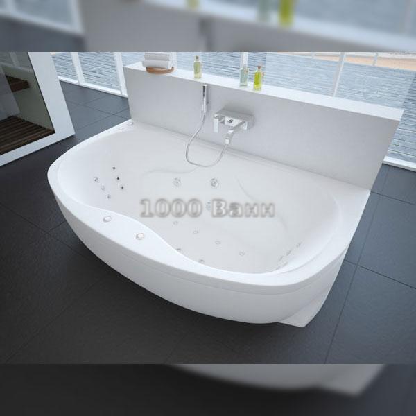 Ванна акриловая АКВАТЕК Мелисса 180х95 (с гидромассажем) Koller
