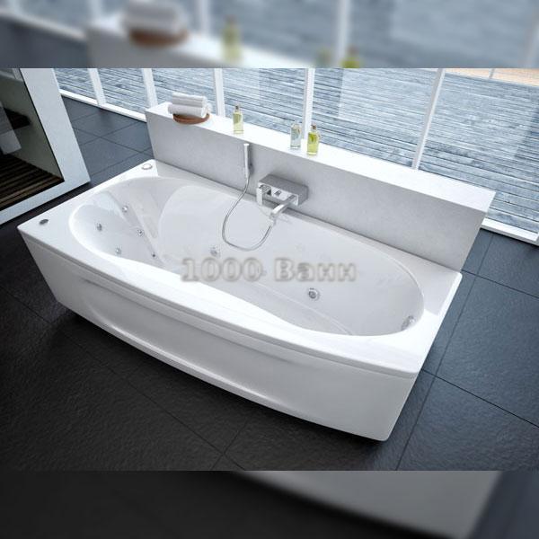 Ванна акриловая АКВАТЕК Пандора 160х75 (с гидромассажем на электроуправлении) Koller