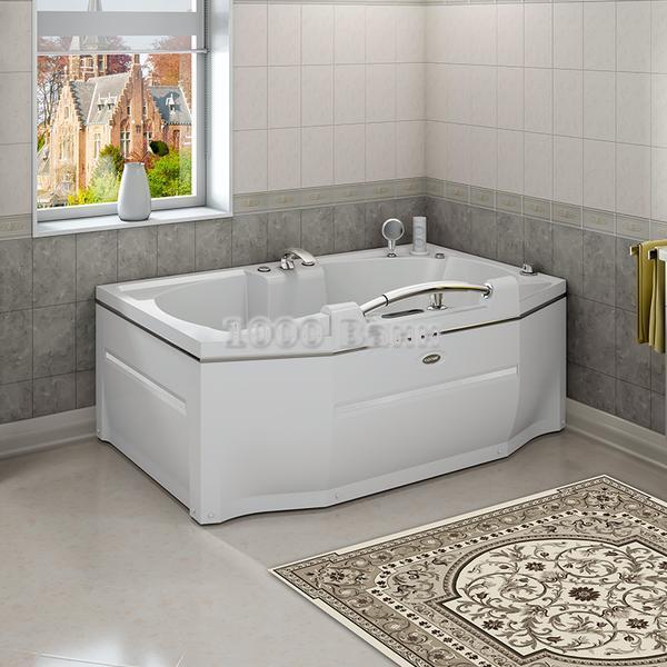 """Акриловая ванна """"Конкорд"""" 180х120 (без гидромассажа)"""