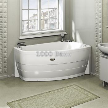 """Акриловая ванна """"Орсини"""" 160х90 (с гидромассажем)"""