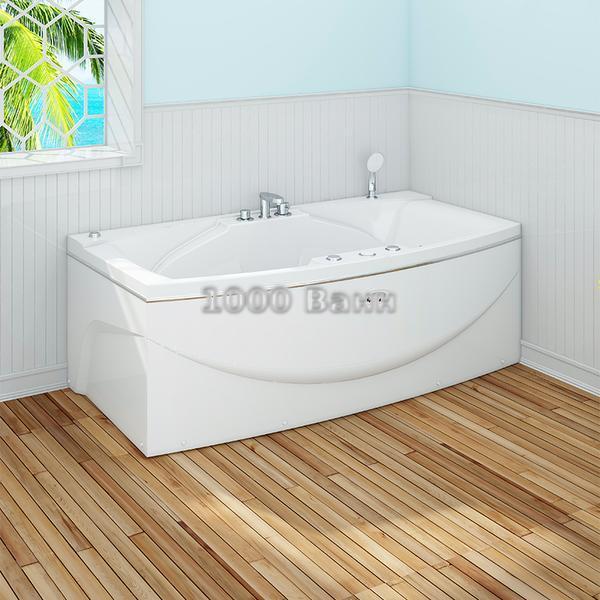 """Акриловая ванна """"Сиэтл"""" 190х100 (без гидромассажа)"""