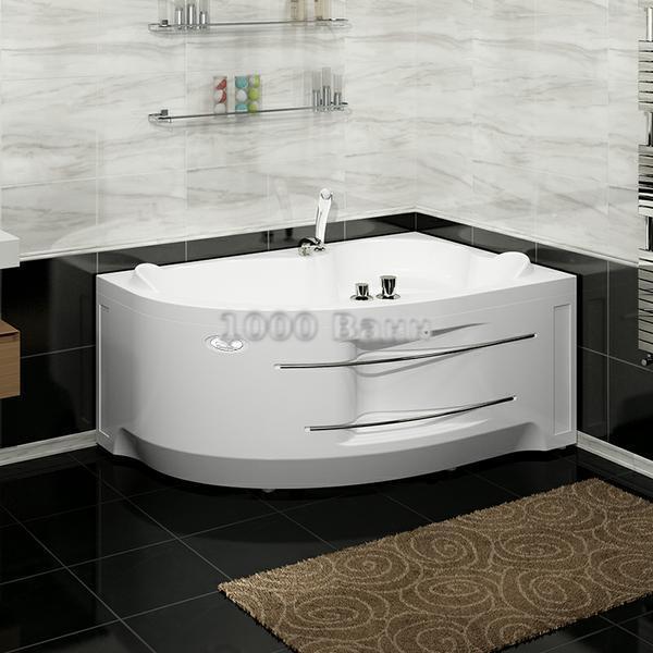 """Акриловая ванна """"Ирма"""" 169х110 (с гидромассажем)"""