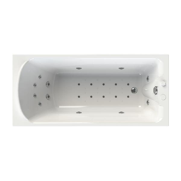 """Акриловая ванна """"Ларедо"""" 168х78 (с гидромассажем)"""
