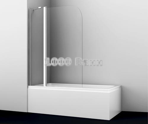 Стеклянная шторка на ванну WasserKRAFT Leine 35P02-110 1100x1400