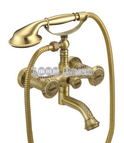 Смеситель Lemark Jasmine LM6614B для ванны