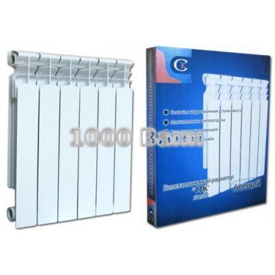 Радиатор биметаллический СТК 80х500 - 4 секц.