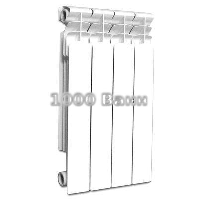 Радиатор алюминиевый Gloria/Glorioso 80х500 - 4 секц.