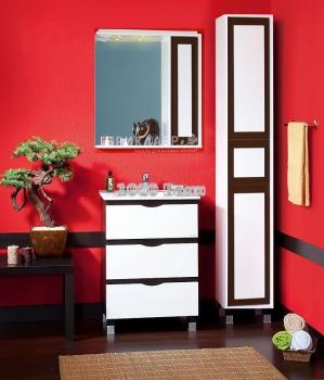 Комплект мебели для ванной Александрия 60 Венге