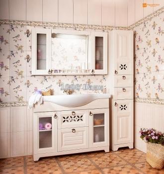 Комплект мебели для ванной Кантри 125
