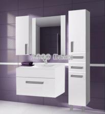 Комплект мебели Triton Ника 90 белый подвесной