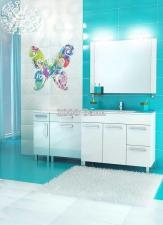 Комплект мебели Triton Ника 100 R белый