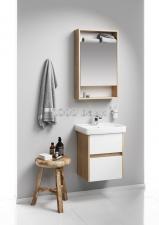 Комплект подвесной мебели Aqwella City 50 дуб балтийский