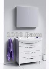 Комплект напольной мебели Aqwella Allegro 85 с тремя ящиками