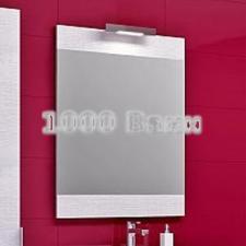 Панель с зеркалом Aqwella Brig 60 седой дуб