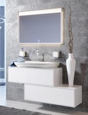 Комплект подвесной мебели Aqwella Genesis 120 белый
