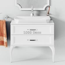 Комплект напольной мебели Aqwella Ladonna белый